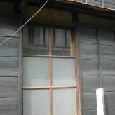 リフォーム前木製建具片引き戸